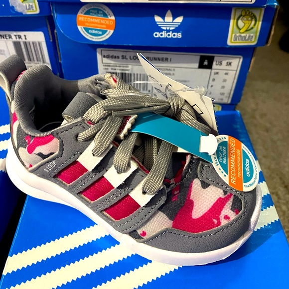 Adidas baby running shoes very comfortable